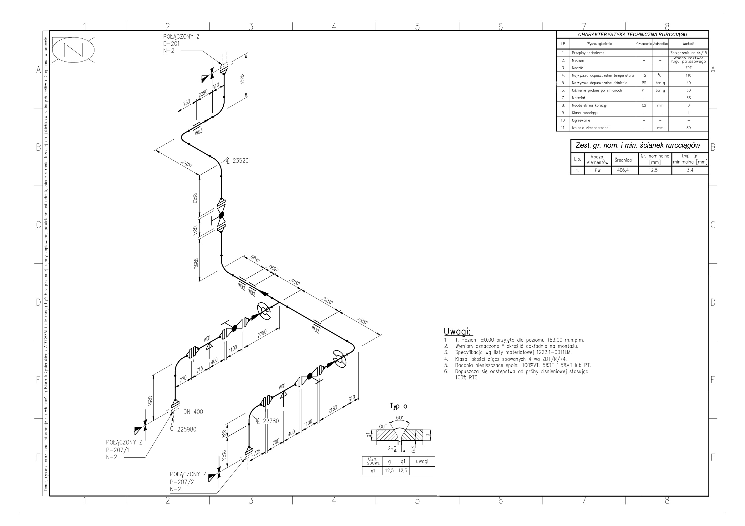 Biuro Inynierskie Atechem Hvac Isometric Drawing Generated From The 3 D Model